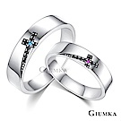 GIUMKA情侶對戒925純銀男女戒指真愛同行一對價格