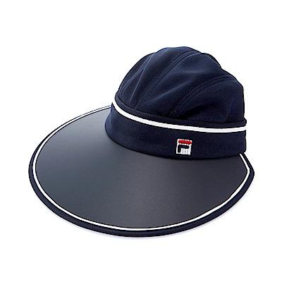 FILA 時尚可拆遮陽帽-丈青HTS-5003-NV