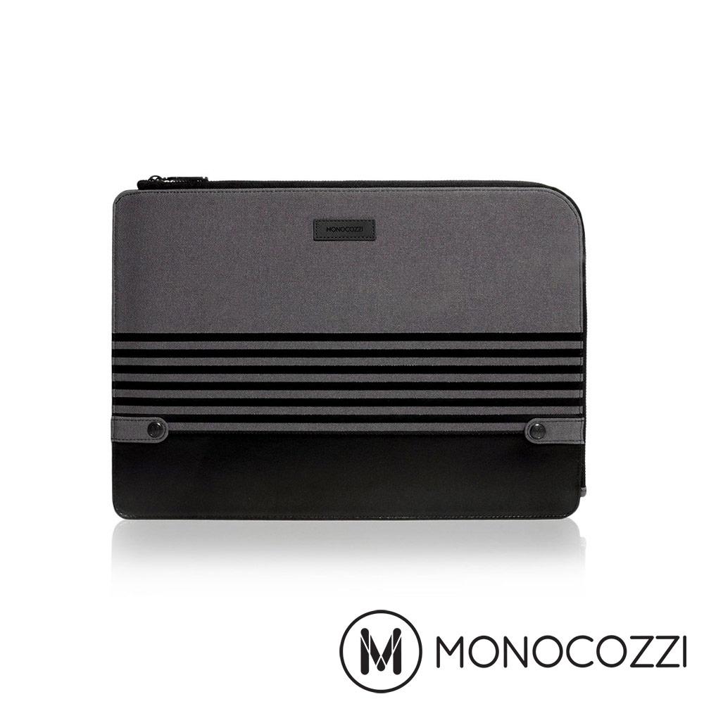MONOCOZZI Gritty 校園系列 14吋電腦保護套 - 沈穩黑