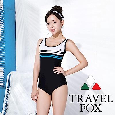 TRAVEL FOX夏之戀  大女連身三角泳衣