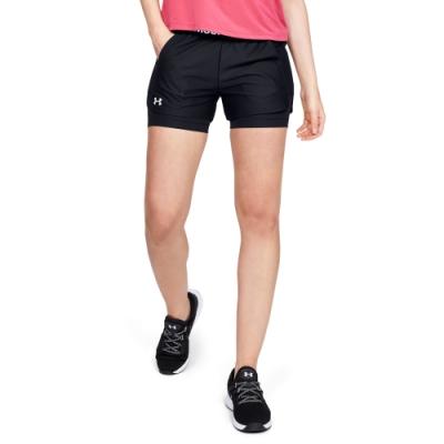 UNDER ARMOUR女 Play Up 2-in-1短褲