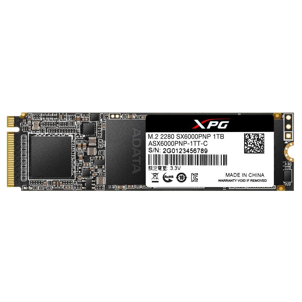 ADATA威剛 XPG SX6000Pro 1TB M.2 2280 PCIe SSD