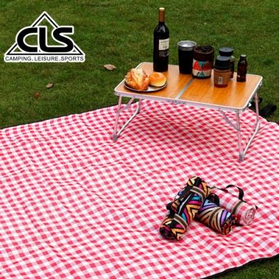韓國CLS 加大經典格紋野餐墊 地墊 防潮墊 寶寶爬行 地布