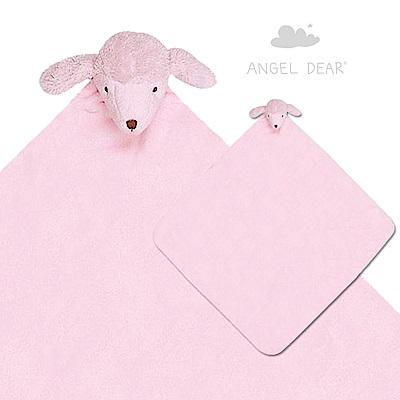 美國 Angel Dear 大頭動物嬰兒毛毯 (貴賓狗)