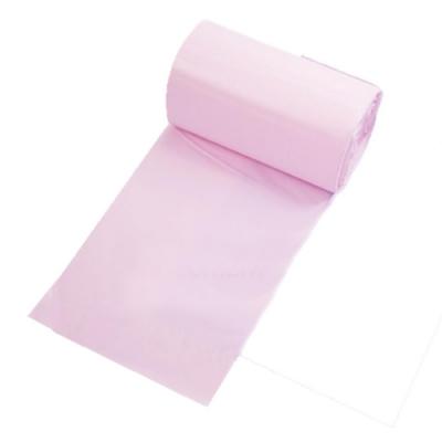 金德恩 台灣專利製造 30包花香垃圾袋/ 可自然分解 環保清潔袋 15L