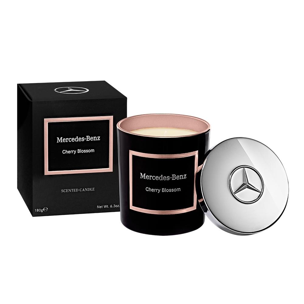 Mercedes-Benz 櫻花綻放 頂級居家香氛工藝蠟燭 180g