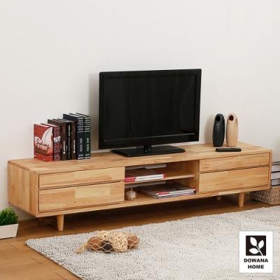 多瓦娜-諾雅林實木電視櫃-長180寬40高52公分