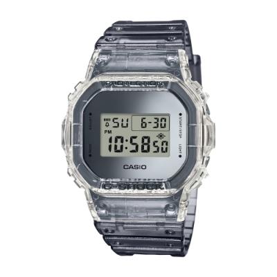 CASIO卡西歐 G-SHOCK 半透明復古系列( DW-5600SK-1D)