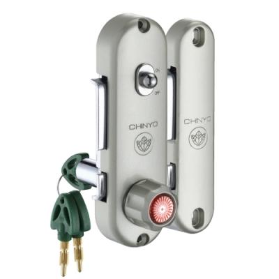 570 青葉牌 高級鋁門 1200型 AT鑰匙 鎖心長38mm 三代鋁門平鈎鎖 十字型鎖