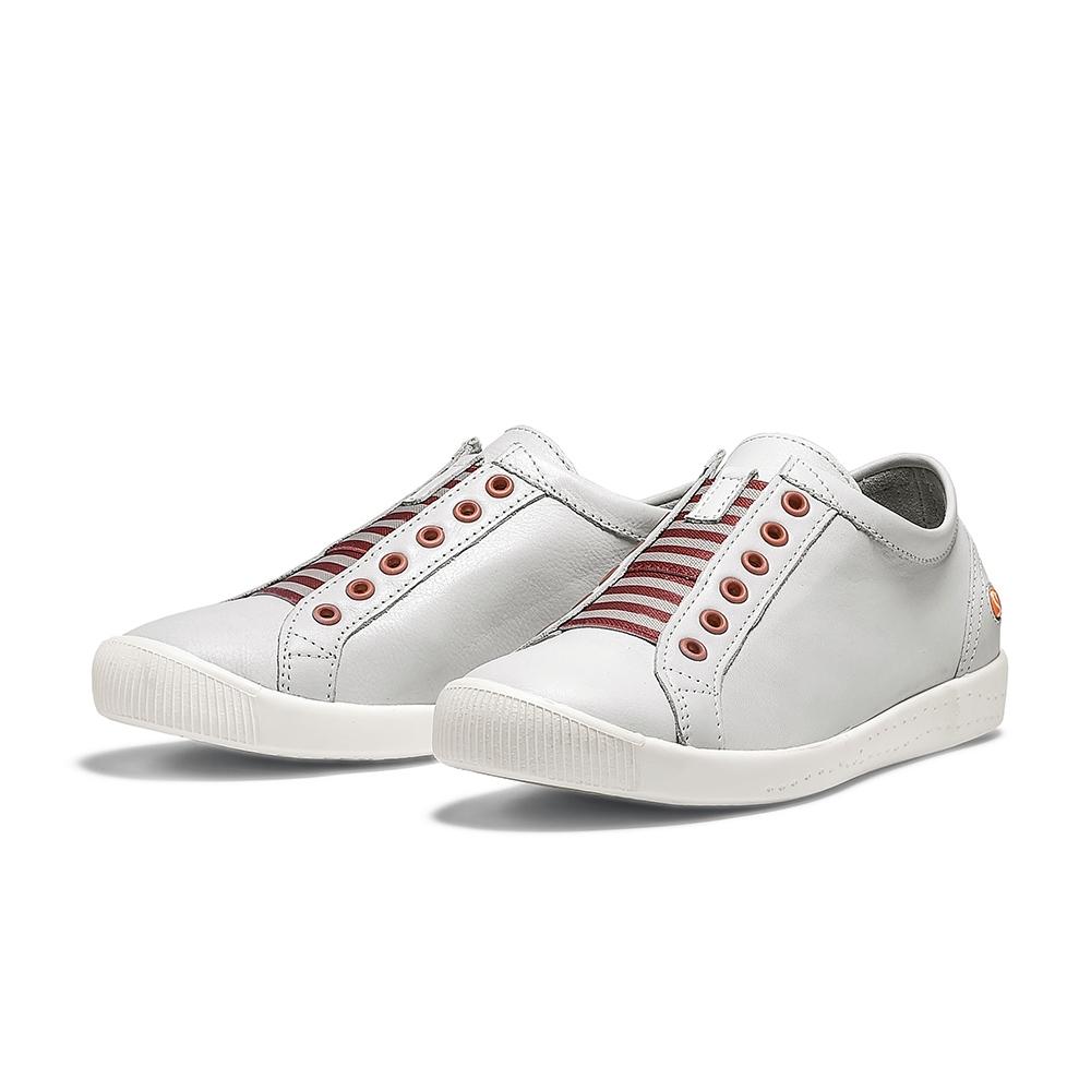 SOFTINOS IRIT 休閒鞋-白/紅