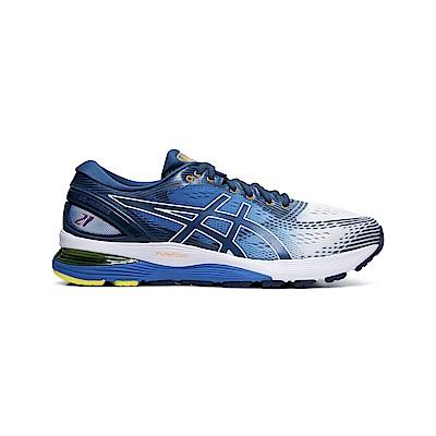 ASICS Gel-Nimbus 21 Shine 跑鞋 男(藍)