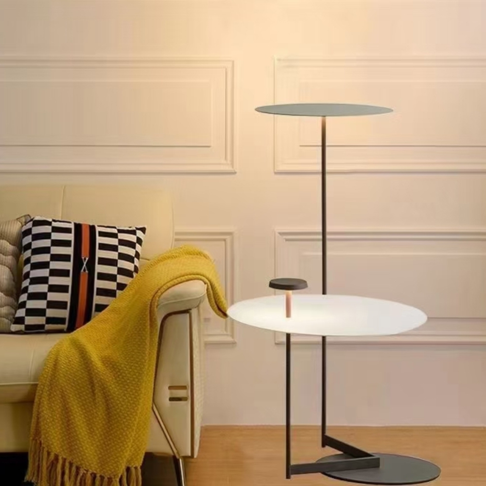 H&R安室家 奧勒松茶几LED落地燈ZA0170