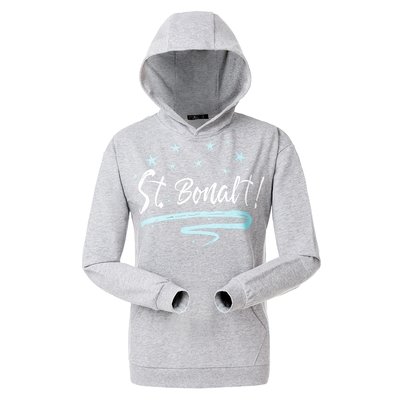 【St. Bonalt 聖伯納】連帽套頭長袖T恤|女款 8184