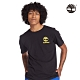 Timberland 男款黑色迷彩印花有機棉短袖圓領T恤|A235A product thumbnail 1