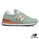 New Balance復古鞋WL574ESE-B_女蘋果綠