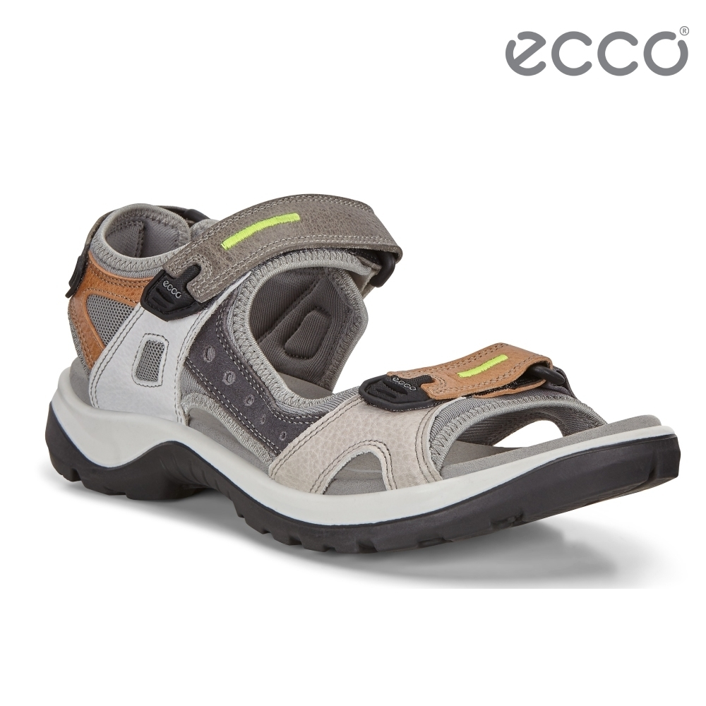 ECCO OFFROAD 越野亮彩戶外運動涼鞋  女鞋-多色/亮綠