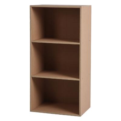 JPKagu日式DIY木質三層櫃/收納櫃1入(3色)-42x28x84cm
