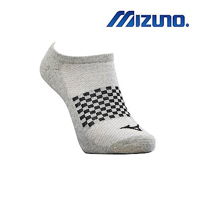 MIZUNO 男運動厚底踝襪 5入 灰 32TX920207
