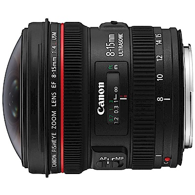 Canon EF 8-15mm F4L Fisheye USM 魚眼鏡頭(公司貨)