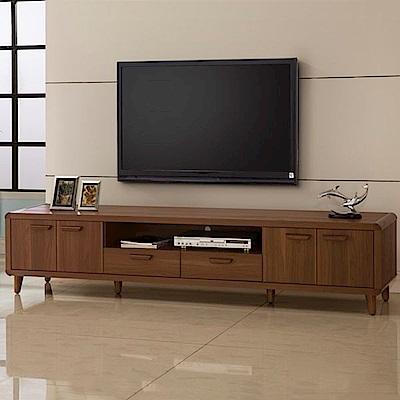 D&T德泰傢俱 愛維斯北歐生活7尺電視櫃-210x45x48cm