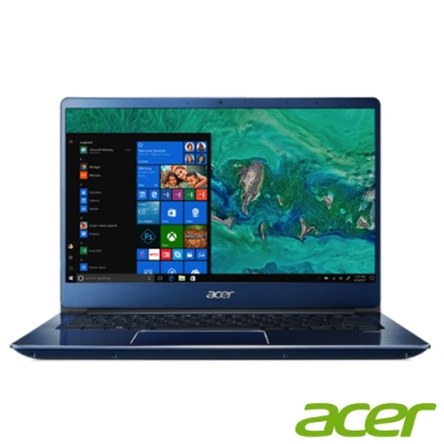 (時時樂)Acer SF314-56G-53KE 14吋筆電(i5-8265U/MX150/4G/1TB/Swift 3/藍)
