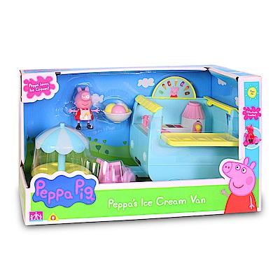 【麗嬰房】Peppa Pig 粉紅豬小妹-冰淇淋餐車組