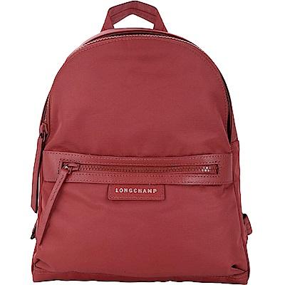LONGCHAMP Le Pliage Neo 小型 厚磅尼龍後背包(紅色)