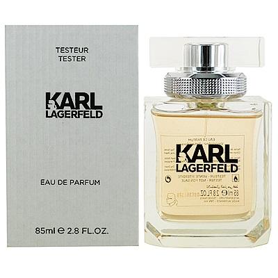 KARL LAGERFELD 卡爾同名時尚女性淡香精85ml(TESTER)