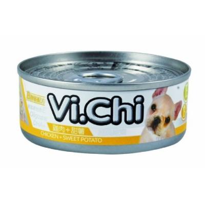 維齊Vi.Chi 《經典 機能狗罐-雞肉+甜薯》80g 24罐組