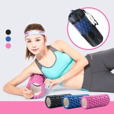 【Incare】專業款按摩雕塑ABS瑜珈滾筒(贈外出背帶)