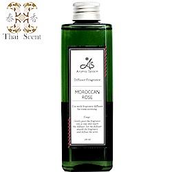 ThaiScent泰香 摩洛哥玫瑰擴香精補充瓶240ml(送造型擴香竹)