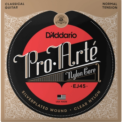 DAddario EJ45 中張力 古典吉他弦 28-43