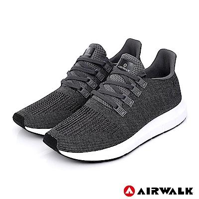 AIRWALK - 動力進擊休閒運動鞋-男款-深灰