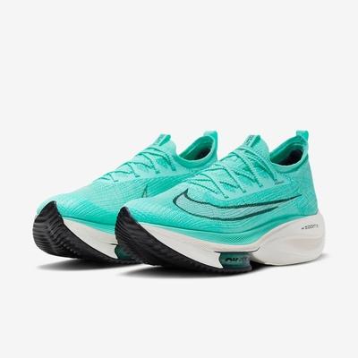 Nike 慢跑鞋 Zoom Alphafly Next 男鞋 氣墊 舒適 避震 包覆 運動 路跑 球鞋 綠 白 CI9925300