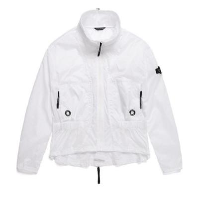 NATIONAL GEOGRAPHIC 女 風衣外套 白色-N192WJP030010
