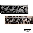 INTOPIC 廣鼎 復古圓形鍵帽鍵盤(KBD-76)