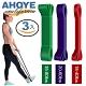 Ahoye 瑜伽健身阻力帶 10-80lbs 3入組 彈力繩 拉力帶 彈力帶 product thumbnail 1