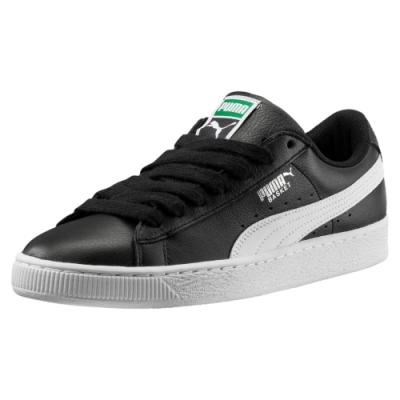 PUMA-Basket Classic LFS 男女復古籃球運動鞋-黑色