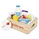 英國 Le Toy Van 角色扮演系列-起司與乳製品盒玩具組 product thumbnail 2