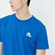 H:CONNECT 韓國品牌 男裝-棋盤格圖印T-shirt-藍(快) product thumbnail 1