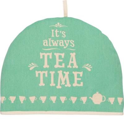 《NOW》茶壺保溫帽(午茶綠)