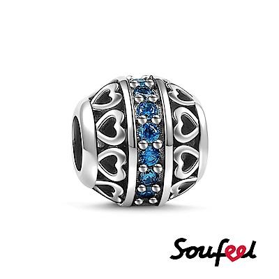 SOUFEEL索菲爾 925純銀珠飾 生日石 十二月 串珠