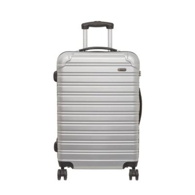 【OUTDOOR】RUSH-24吋拉鍊箱-銀白色 OD1172B24SL