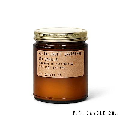 美國 P.F. Candles CO. No.10 香甜葡萄柚 手工香氛蠟燭 204g