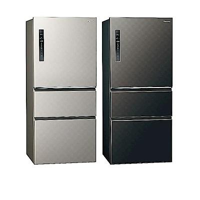 [館長推薦] Panasonic國際牌 610L 1級變頻3門電冰箱 NR-C610HV