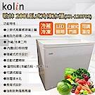 KOLIN歌林 200L 臥式冷凍櫃 KR-120F02 瑭瓷白