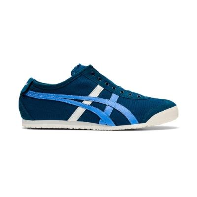 Onitsuka Tiger鬼塚虎-MEXICO 66 SLIP-ON休閒鞋 男女(藍色)1183A360-400
