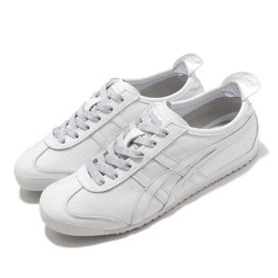 Onitsuka Tiger 休閒鞋 Mexico 66 復古 經典 女鞋 OT 鬼塚虎 皮革鞋面 穿搭推薦 白 銀 1182A204100