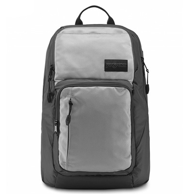 JanSport - BROADBAND系列後背包 -科技銀