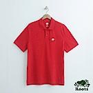 男裝Roots 經典短袖POLO衫-紅